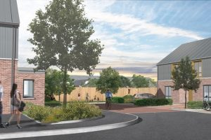 Active Homes Neath artists impression