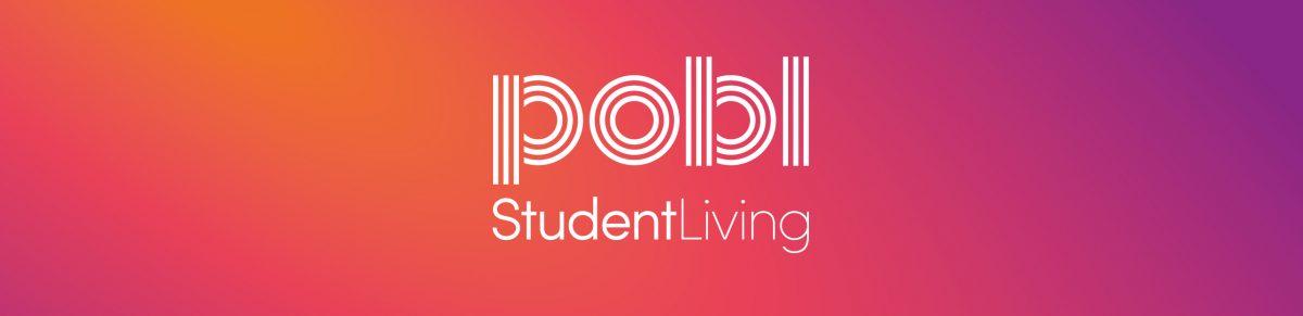 Pobl Student Living Logo